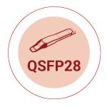 QSFP28 WDM Transceivers